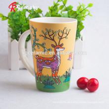 Taza cerámica taza de café de cerámica pintable de la fábrica