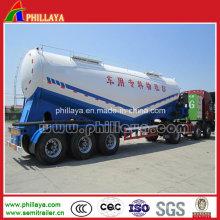 Semi reboque do tanque do cimento 65m3 semi / tanque de pó (FLY9902TDP)