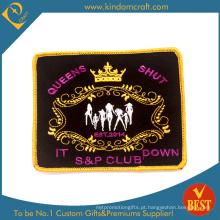 Remendo feito sob encomenda do bordado do clube da rainha feita sob encomenda da forma (LN-0161)