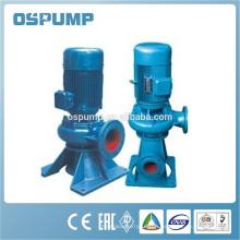 Pompe d'eaux usées verticales en ligne