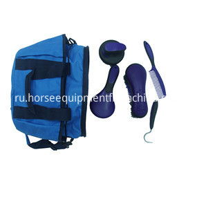 nylon horse grooming kit