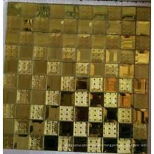 Mosaico de oro mosaico de espejo de mosaico (HD067)