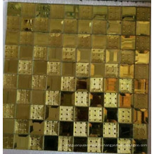 Мозаичная мозаика с золотым мозаикой (HD067)