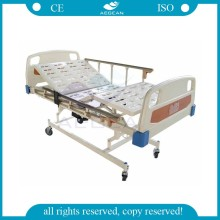 AG-BM104 three-function ABS plastic medical bed price