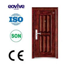 Individuelle Französisch-Tür Eintrag benutzerdefinierte Stahl Sicherheitstür gemacht