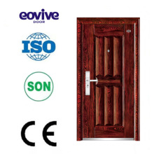 Customized french door made entry door custom steel security door