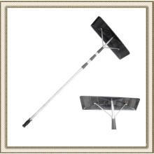 Telescopic Aluminum Roof Snow Rake with Aluminum Tube (CL2T-SS801L)