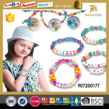 Novo estilo menina jovem grânulo brinquedo conjunto de jóias