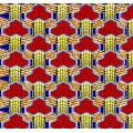 Pure Cotton Super Imitation Wax Fabrics