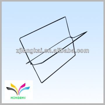 New design high quality counter wire magazine holder on shelve for book store