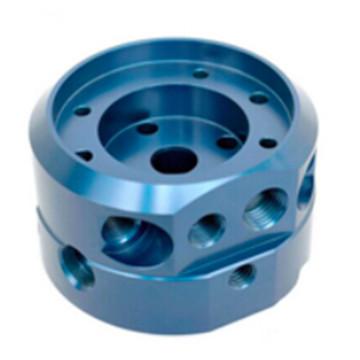 Peça de alumínio usinada CNC da precisão com revestimento de superfície