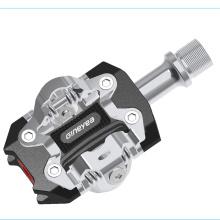Pedales automáticos Pedal mtb Aluminio forjado Cr-Mo DU Rodamiento sellado