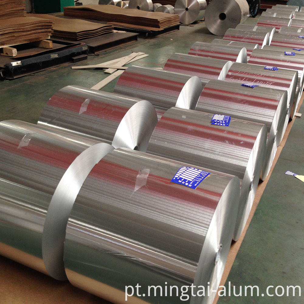 18 macron food Packaging Aluminum Foil aluminum roti wrape canada price per ton