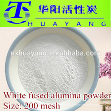 Al2O3 99% White Fused Alumina powder 200 mesh used in steel polishing