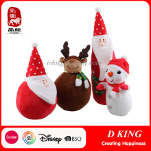 2017 New Christmas Stuffed Soft Custom Plush Toy Dolls