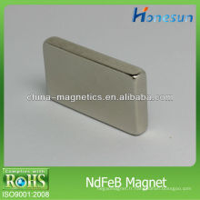 aimant/aimants néodyme n42 cuboïde/bloc F25x14x4mm