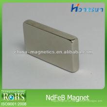 N42 bloco/cubóide ímãs do neodymium magnet/F25x14x4mm