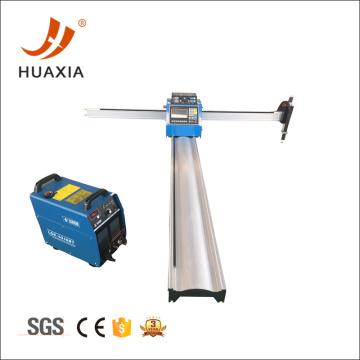 Low cost portable cnc gas plasma cutting machine