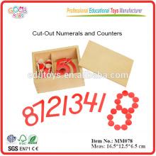 Montessori Material Anzahl Anzahl Mathe Spielzeug