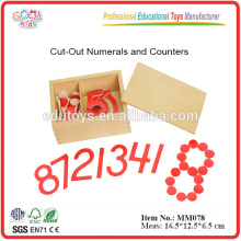 Montessori Material Number Count Math Toys