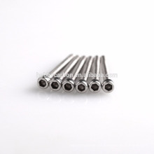 Tornillos de fijación del acero inoxidable 316, tornillos modificados para requisitos particulares