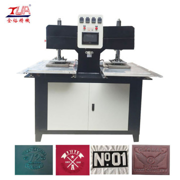 Mesin Besi Embossed Heating Press Making