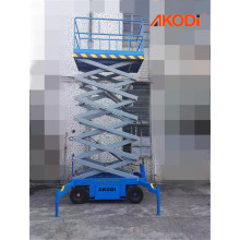 Portable Mobile Scissor Lift Platform 4.5 meter