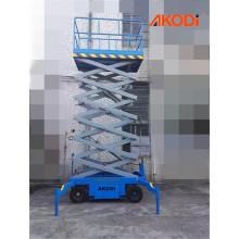 Plataforma móvel para elevação de tesoura móvel 4,5 metros