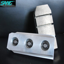 De alta calidad 140 mm 170 mm de longitud de metal Bond Diamond Fickert