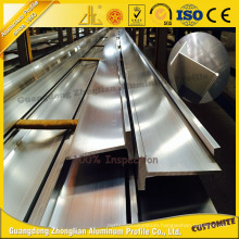 Anodized T-Slot Aluminum Extrusion with ISO9001 Certification