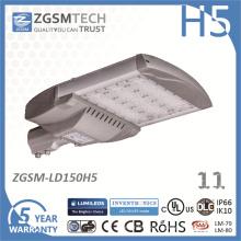 Luz de rua alta do diodo emissor de luz do lúmen da microplaqueta 3030 SMD de 150W Philips