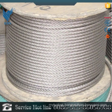High quality 430 stainless steel Plastic coated wire rope