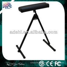 2014 high quality professional comfortable real leather Tattoo adjustable armrest for tattoo machine