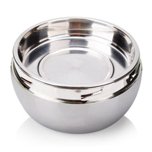 special design stainless steel apple shape bento lunch box for kids