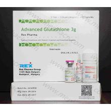 Inyección de glutatión 3G para blanqueamiento de la piel / Gsh 3000mg Productos de belleza inyectables