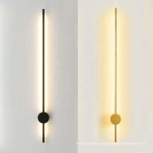 Modern Minimalist Led Bed Wall Light Decorative Indoor Metal Wall Lamp