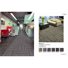 Flame Retardance Nylon Carpet Tile with PVC Backing