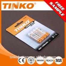 Con chaqueta litio batería 1.5v Li-FeS2 y LF 1200mAh buena calidad