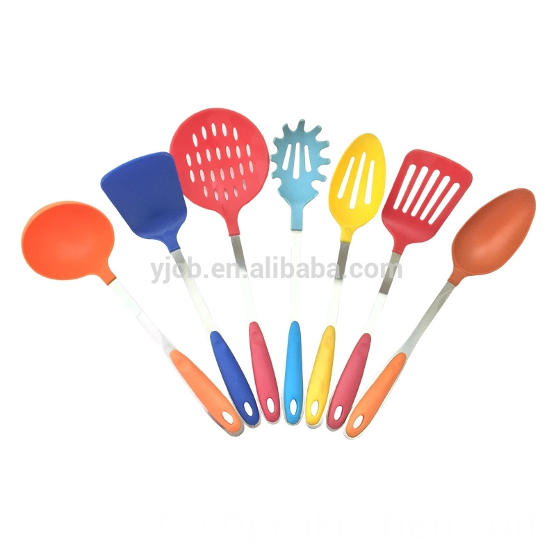 Rainbow Nylon Utensil Set