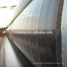 China fábrica direta de qualidade superior tubo de aço preto erw