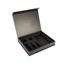 Caja magnética de libro personalizado de lujo con espuma EVA