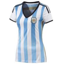 Argentina 2014 Women's Home Soccer Jersey Soccer Kit