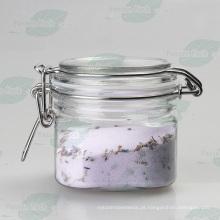 Plástico pet prateado hermeticamente fechado com anel de silicone (PPC-65)