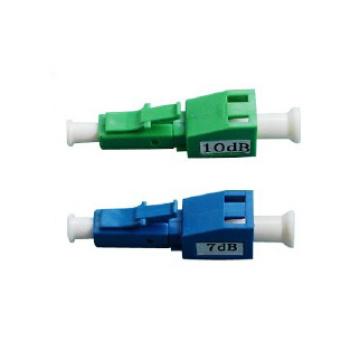 LC Upc / APC 3, 5, 10, 15, 20dB atenuador óptico de fibra hombre-hembra