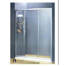 Bouchon en caoutchouc en verre trempé pour porte de douche en verre
