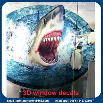 Custom 3D Glass Window Background Decals
