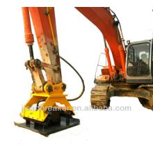 placa vibratória, placa compactadora KOMATSU, acessórios para escavadeiras