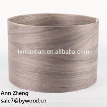 Chapa de chapa de madera natural Tipo y técnicas de corte rotatorio chapa de nogal de corte rotatorio