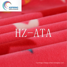 100%Polyester Printed Polar Fleece Fabric 75D/96f