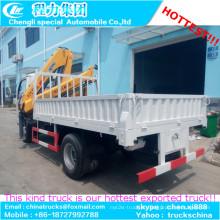Melhor qualidade 3.2 ton Knuckle Boom caminhão montado guindaste de XCMG